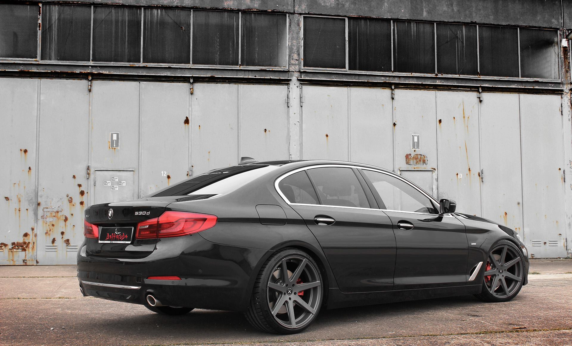 BMW 5er mit Barracuda Wheels
